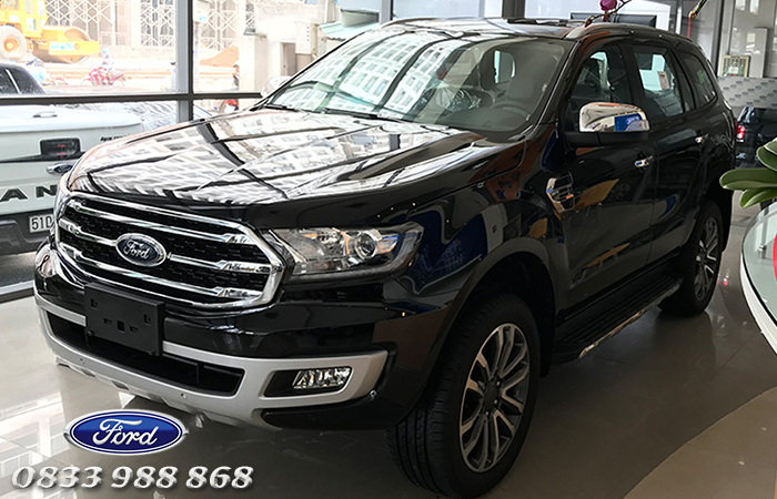 Thiết kế đầu xe Ford Everest Ambiente