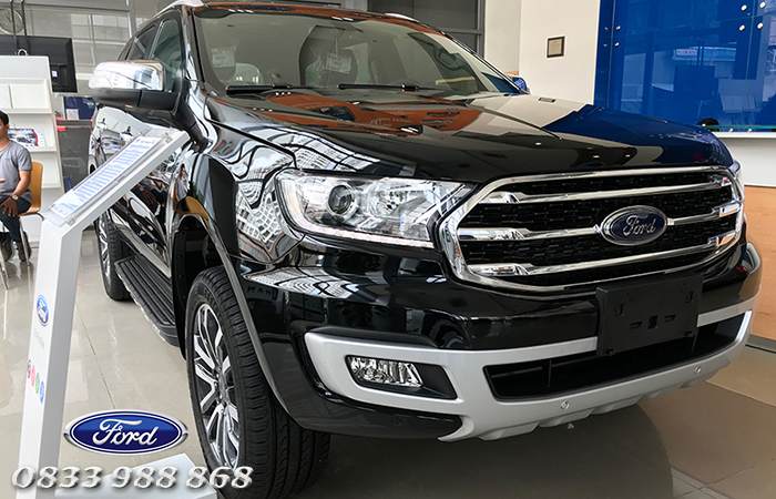 Thiết kế thân xe Ford Everest Ambiente