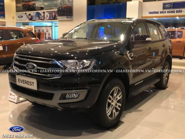 Thiết kế thân xe Ford Everest Trend 2020